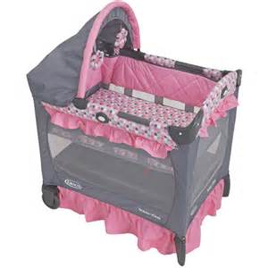 Graco Mini Crib Graco Travel Lite Portable Mini Playard With Baby Bassinet Ally Walmart