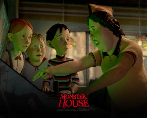 monster house characters wallpaper by liviusquinky on monster house halloween wiki fandom powered by wikia