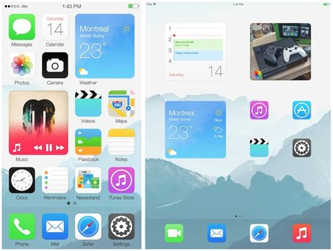layout grid ios home screen widget blocks imagined in new ios co 为程序员服务