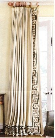 banded curtains 1000 images about design details drapery curtains