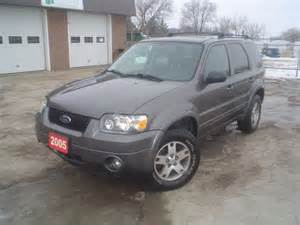 2005 Ford Escape Limited 2005 Ford Escape Limited St Ontario Used Car For