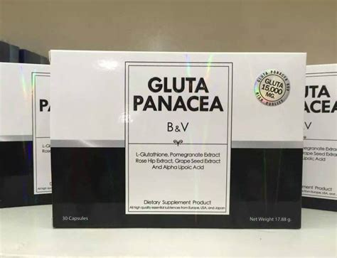 Lotion Gluta Panacea Lotion Panacea 1 gluta panacea b v thailand best selling products