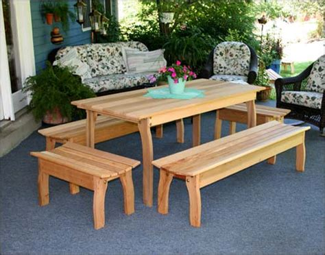 Cedar Patio Table Cedar Outdoor Furniture Cedar Patio Furniture Sets