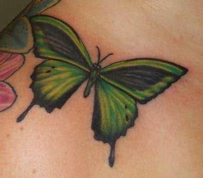 tattoo butterfly green green butterfly tattoo