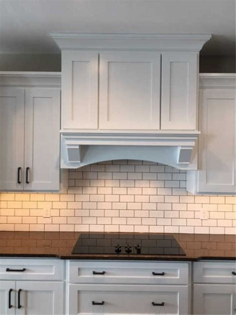 build  custom wood range hood cover part