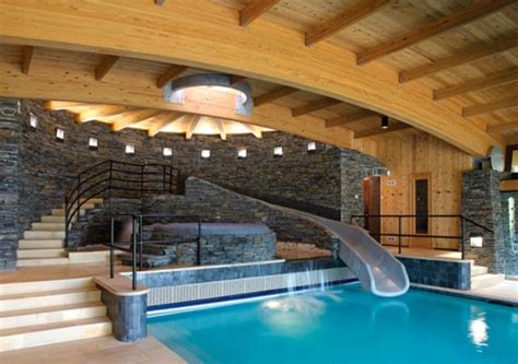 indoor pool house houses with pools inside country home design ideas