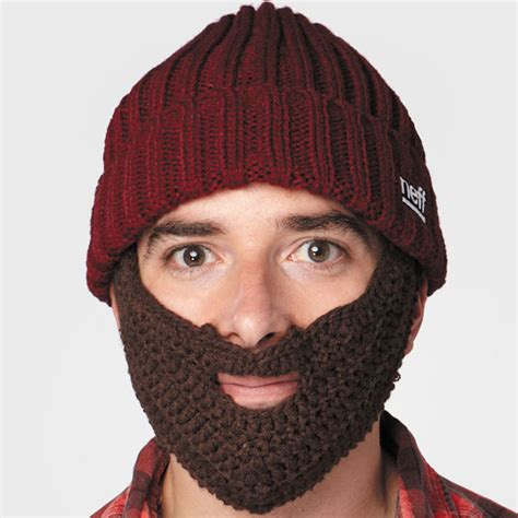 Knit Hat With Beard Pattern Newhairstylesformen2014
