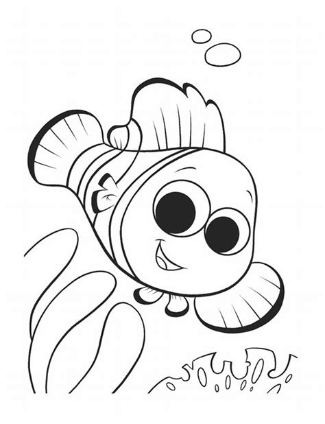 Nemo Coloring Pages To Print | free printable nemo coloring pages for kids