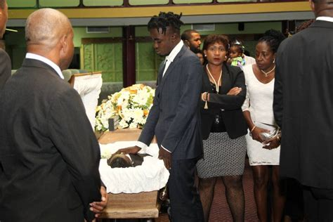 Mills Says Goodbye On by Fashion Designer Laid To Rest And Tobago Newsday