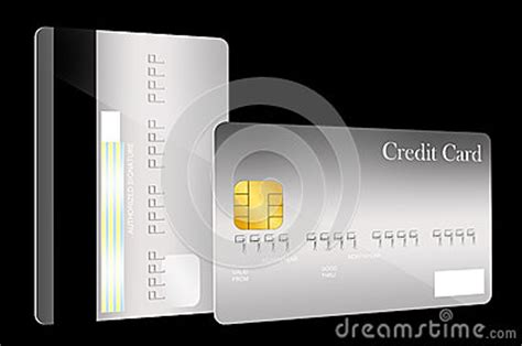 Credit Card Template Front And Back Front And Back Credit Card Template Stock Photography Image 37114292