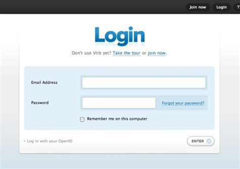 Login Home Page Site by An Ode To Border Radius Web Designer Notebook Web