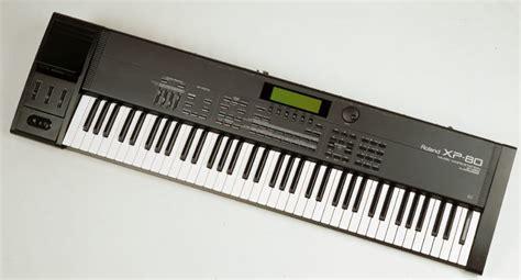 Keyboard Roland Xp 80 roland xp 80 image 90253 audiofanzine