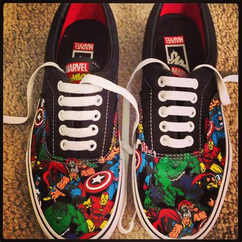 marvel shoes for shoes by vans for the marvel freak in all of us