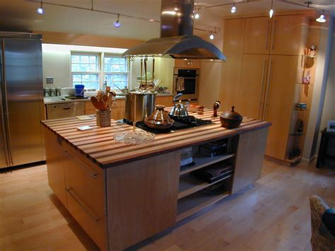 Stove On Kitchen Island by Kitchen Island Ideas Modern Magazin