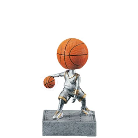 bobblehead basketball trophy basketball bobblehead trophy 5 5 quot basketball trophies