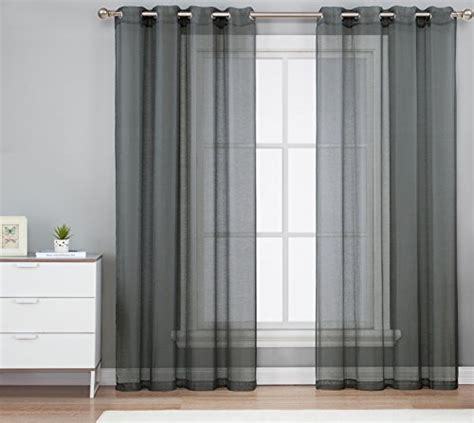 Charcoal Sheer Curtains Top 5 Best Charcoal Grey Curtains For Sale 2016 Product Boomsbeat