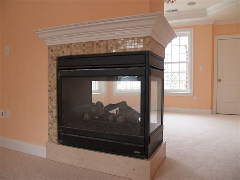 Sided Propane Fireplace by Three Sided Gas Fireplace Model Edvpf By Lennox Hearth