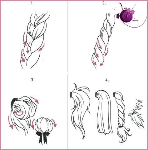 Anime Hairstyles Braids | anime braids hairstyles step by step