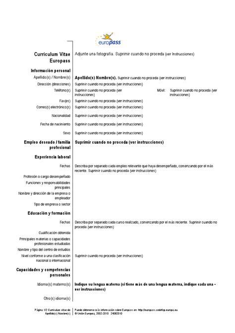 ejemplo de curriculum vitae profesional new calendar template site