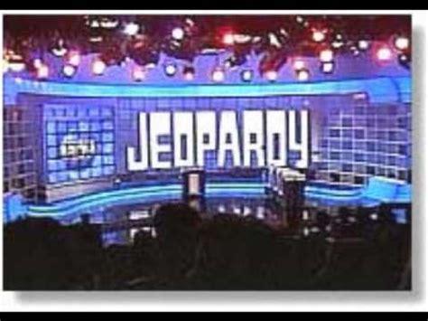 jeopardy theme music youtube jeopardy theme 1991 1997 youtube