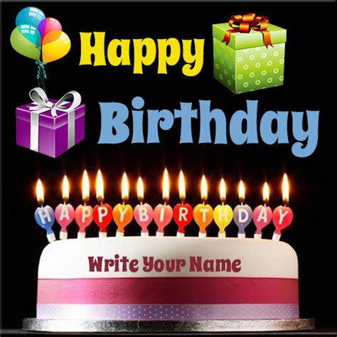 happy birthday design generator write your name on happy birthday celebration cake online fr