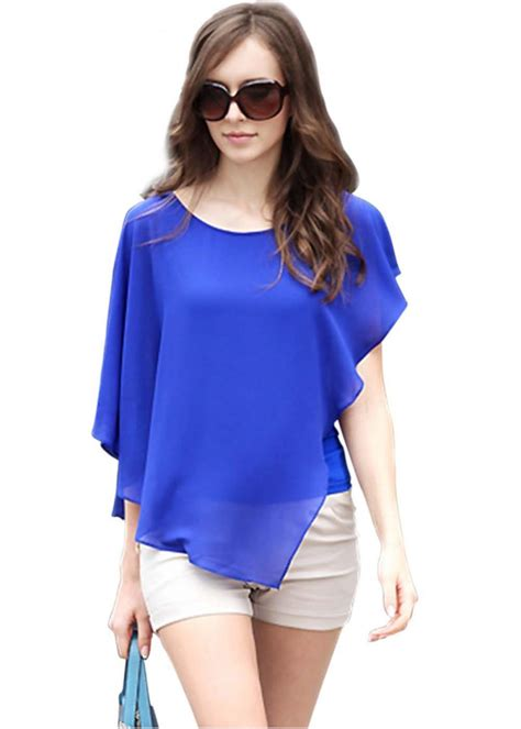 New Blouse Dress new casual blouses 2015 summer chiffon sleeve
