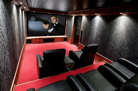home movie theatre decor 15 beautiful and stylish home theatres