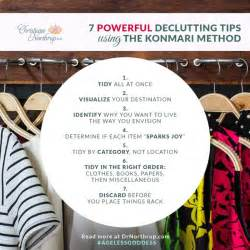 Method decluttering declutter konmari method organizing organizing kon