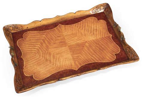 rococo style decorative serving tray