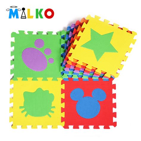 spiel puzzle matten 6 pcs puzzle foam material play mat for infant and kid