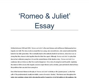 Romeo And Juliet Essay Conclusion by Literary Quotes About Fate Quotesgram