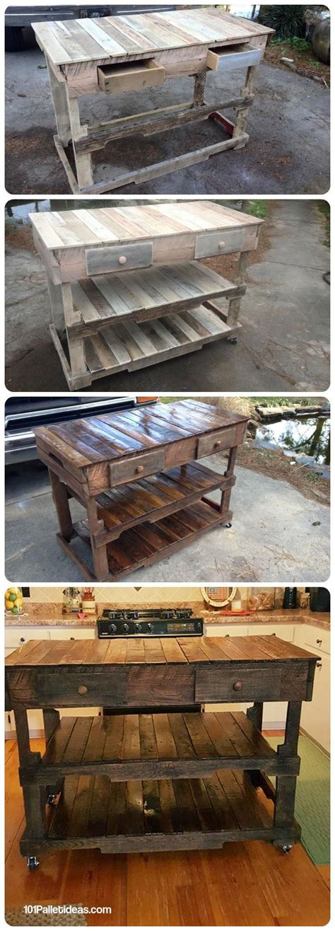 kitchen projects ideas 25 best ideas about pallet island on pallet