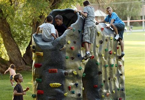 backyard climbing wall for kids pin by sharon mason on ideas and pictures for the kids pinterest