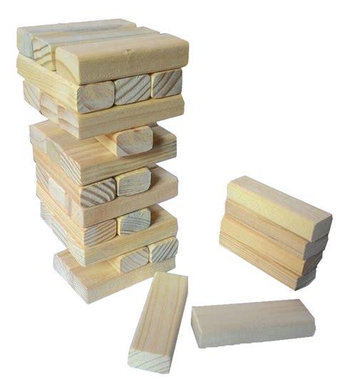 Berkualitas Mainan Edukatif Edukasi Anak Balok Kayu Menara Berti tumbling tower mainan kayu edukasi anak