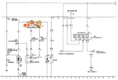 vw golf generator starter voltage regualtor and ignition