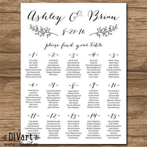 Wedding Seating Chart by Wedding Seating Chart Wedding Seating Plan Chalkboard