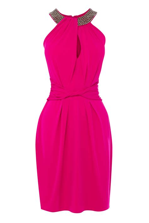 Dress Pink coast halter dress in pink lyst
