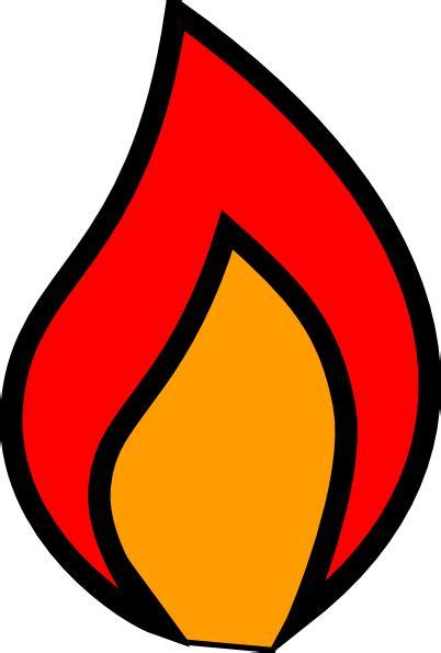flames clipart colour clip at clker vector clip