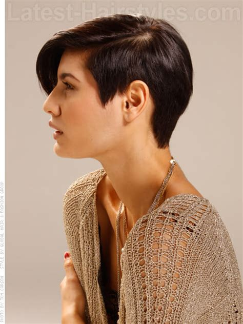 short hairstyles long on one side short on other go short 15 incredibly chic pixie hairstyles to try