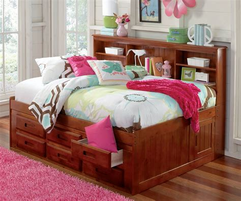 full size bed with shelf headboard new full size storage bed with bookcase headboard