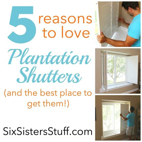 The Best Places To Get 5 Reasons To Plantation Shutters And The Best Place