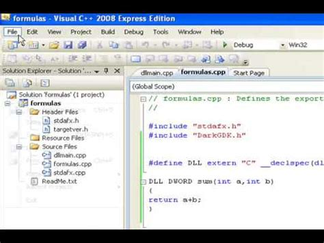 tutorial c dll c tutorial 41 how to make a dll file in c doovi
