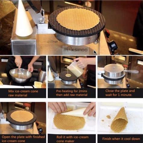 Mesin Pencetak Cone Toko pembuat cone dan mangkuk es krim cic21 toko mesin