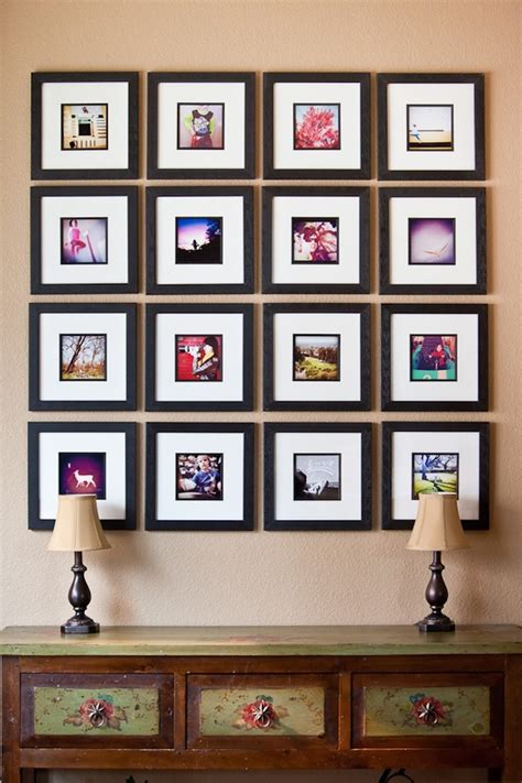 Handmade Photo Collage Ideas - 32 photo collage diys for a more beautiful home