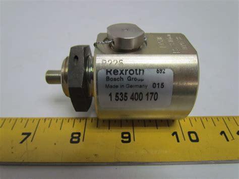 Four Bosch 535 by Rexroth Bosch 1 535 400 170 009738 Hydraulic Bladder