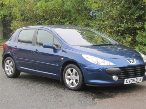 used peugeot for sale used peugeot 307 2006 petrol blue with for sale autopazar