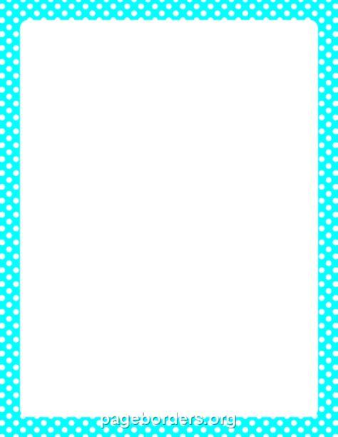 dot pattern border 54 pink and white polka dot border clip art