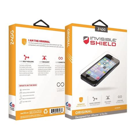 amazon zagg amazon com zagg invisibleshield original screen protector