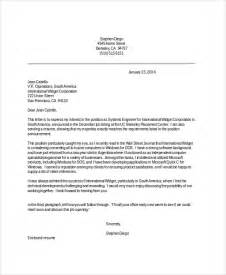 Professional Cover Letters For Resumes Sample Resume Cover Letter 8 Examples In Pdf Word