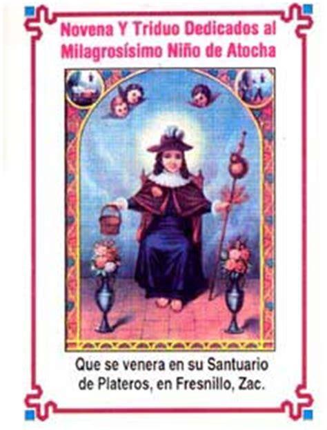oracion al santo nino de atocha oraciones milagrosas oracin al santo nio de atocha